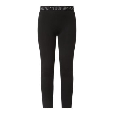 Puma Tight fit sportlegging met logo in band - dryCELL