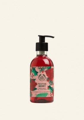 The Body Shop NL Festive Berry Hand Wash 250 ML
