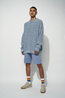 nu-in 100% Recycled Knitted Lounge Shorts