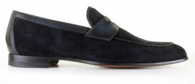 Magnanni 21673 Navy Loafers