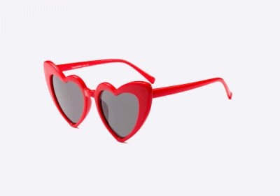 Blank-Sunglasses NL AMOR. - Red with black