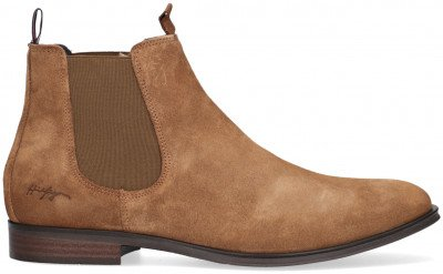 Tommy Hilfiger Bruine Tommy Hilfiger Chelsea Boots Casual Suede