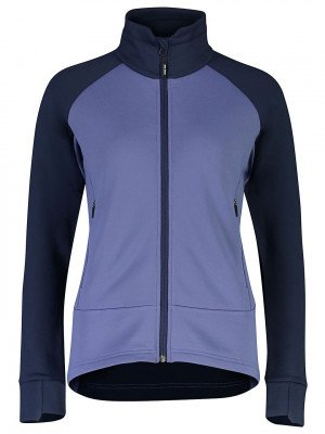 Mons Royale Mons Royale Merino Nevis Wool Fleece Jacket blauw