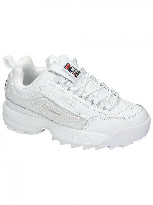 Fila Fila Disruptor II Patches Sneakers wit