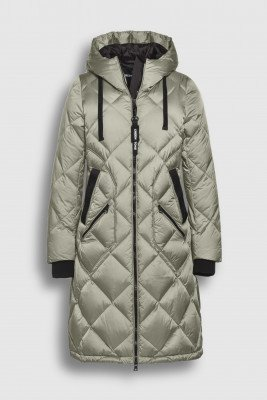 Creenstone Creenstone Diamond quilted puffer - Frosted Pine