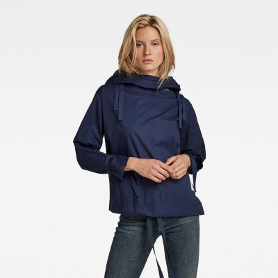G-Star RAW Hooded Smock Top - Donkerblauw - Dames