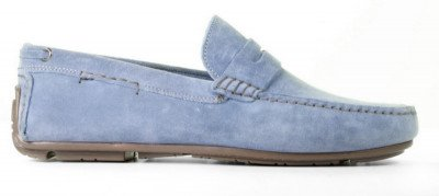 Cypres Cypres Harris Blue Herenloafers