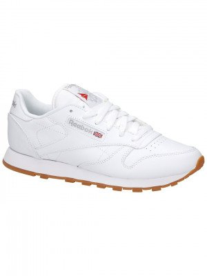 Reebok Classic Leather Sneakers wit