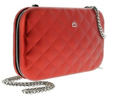 Ogon Designs Ogon Clutch Quilted Lady Bag Red