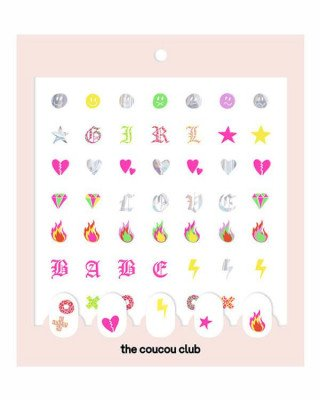The Coucou Club The Coucou Club - Coucou Nail Art: The LAKWERK Sheet - 2 st