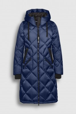 Creenstone Creenstone Diamond quilted puffer - Space Blue