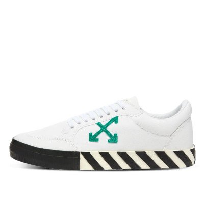 Off-White Off-White Arrow Low Top Green