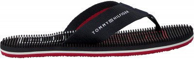 Tommy Hilfiger Blauwe Tommy Hilfiger Slippers Massage Footbed Th Beach