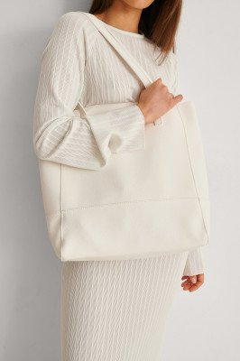 NA-KD Accessories NA-KD Accessories Zachte Basic Draagtas - White