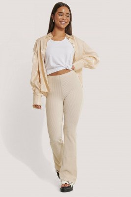 Sisters Point Sisters Point Pola Pants - Beige