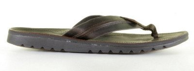 REEF REEF Voyage Lux Dark Brown Slipper
