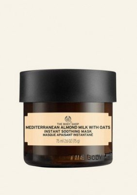 Mediterranean Almond Milk With Oats Instant Soothing Mask 75 ML
