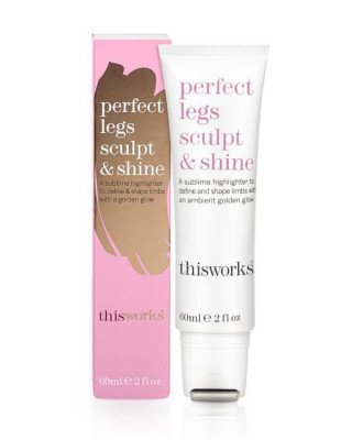 This Works This Works - Perfect Legs Sculpt & Shine - 60 ml