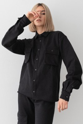 Stefanie Giesinger for nu-in 100% Recycled Cargo Jersey Overshirt