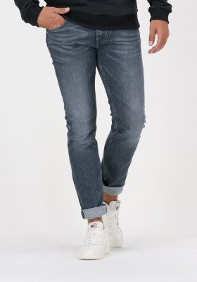 7 For All Mankind Grijze 7 for all Mankind Slim Fit Jeans Ronnie Special Edition America