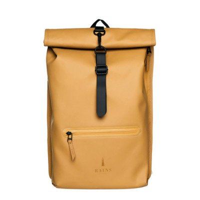 Rains Rains Roll Top Backpack Khaki