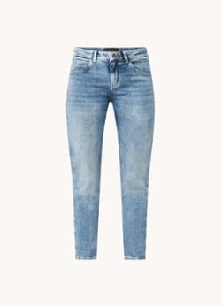 drykorn DRYKORN Like high waist slim fit cropped jeans met stretch
