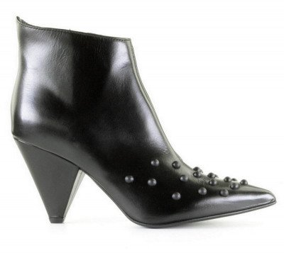 MA and LO MA and LO 9048 Zwart Dames Enkelboots