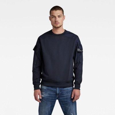 G-Star RAW Container Sweater - Donkerblauw - Heren