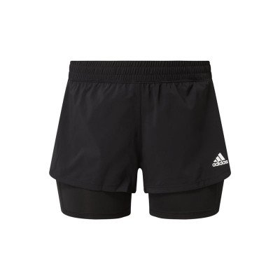 adidas performance Sweatshorts in dubbele-laagjeslook