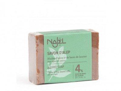 Najel Aleppo Zeep met 4% Laurierolie - 155 gram Najel