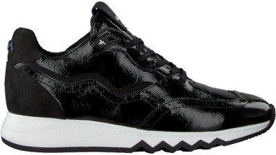 Floris van Bommel Zwarte Floris Van Bommel Lage Sneakers 85287