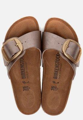 Birkenstock Birkenstock Madrid Big Buckle slippers taupe