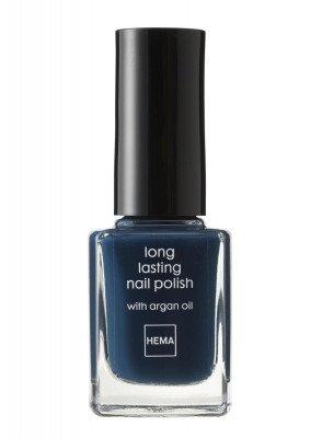 HEMA Longlasting Nagellak (nachtblauw)