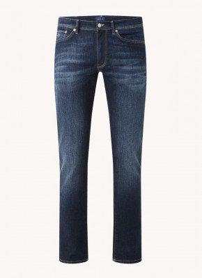 Gant Gant Slim fit jeans met medium wassing