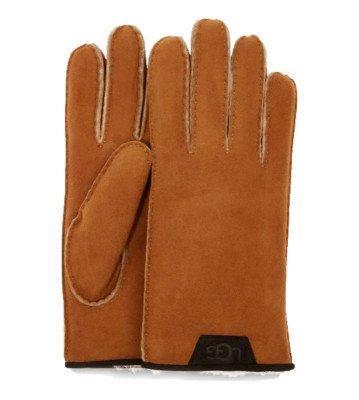 UGG UGG Shearling Leather Trim Bruin Heren Handschoenen