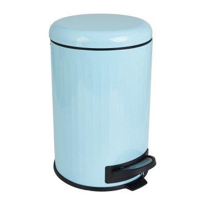 Xenos Pedaalemmer retro - blauw - 12 liter