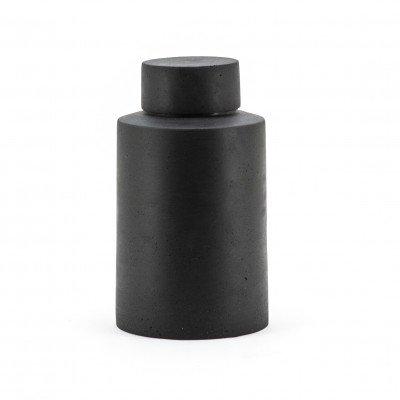 By-Boo By-Boo Pot 'Ming' 33cm, kleur zwart