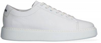 Blackstone Witte Blackstone Lage Sneakers Vg45