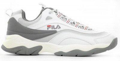 FILA FILA Ray CB Low Wit/Grijs Herensneakers