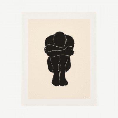 MADE.COM The Poster Club, Stacks 02, print door By Garmi, 40 x 50 cm