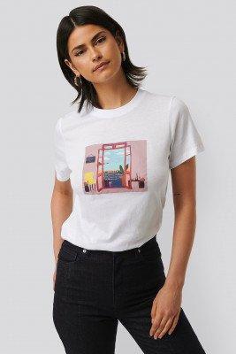 NA-KD T-Shirt - White