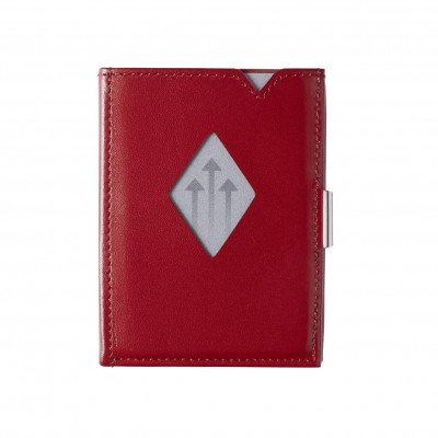 Exentri Exentri Leather Wallet Red