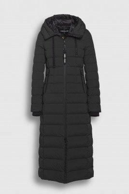 Creenstone Creenstone Long hooded puffer - Black