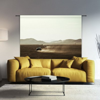 Urban Cotton Urban Cotton Wandkleed 'Desert Drive', 145 x 190cm