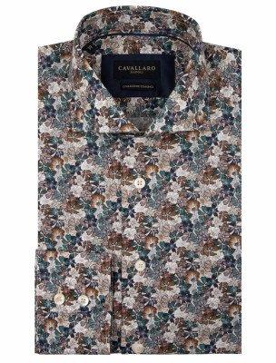 Cavallaro Napoli Cavallaro Napoli Heren Overhemd - Florando Overhemd - Multi colour