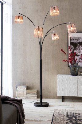 Artistiq Living Artistiq Vloerlamp 'Stefanie' 5-lamps