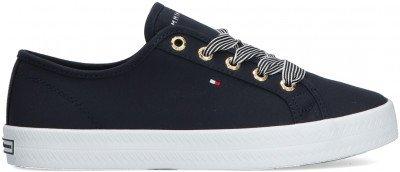 Tommy Hilfiger Blauwe Tommy Hilfiger Lage Sneakers Essential Nautical