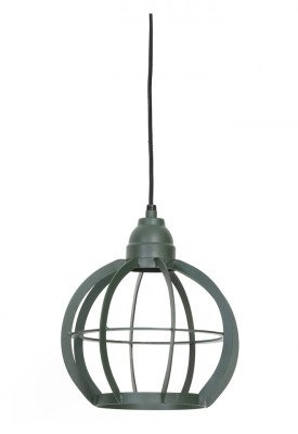 Light en Living Light & Living Hanglamp 'Bibi' 23cm, donker groen