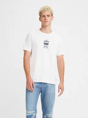 Levi's Original Housemark T shirt - Wit / Never Imitated
