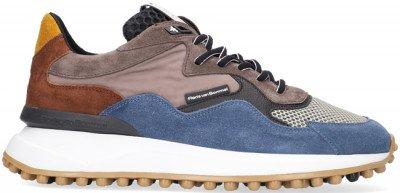 Floris van Bommel Blauwe Floris Van Bommel Lage Sneakers 16339
